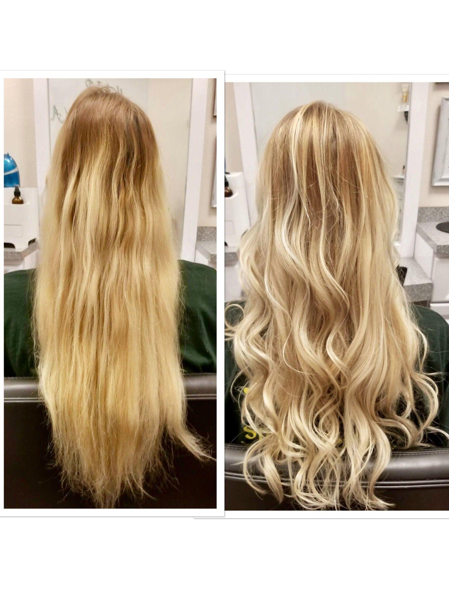 Blonde Balayagebaby Lights Organic Hair Color Organic Hair Salon