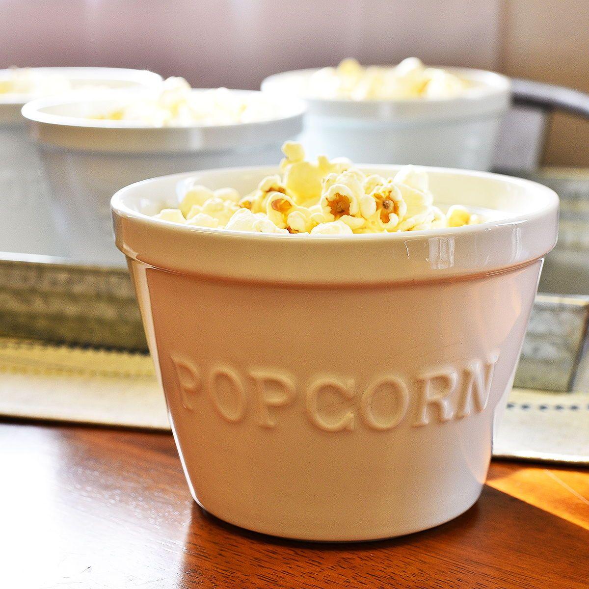 Home popcorn bowl bowl dinnerware