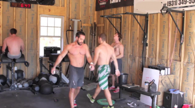 A look inside rich froning s barn home gym fitness home gym
