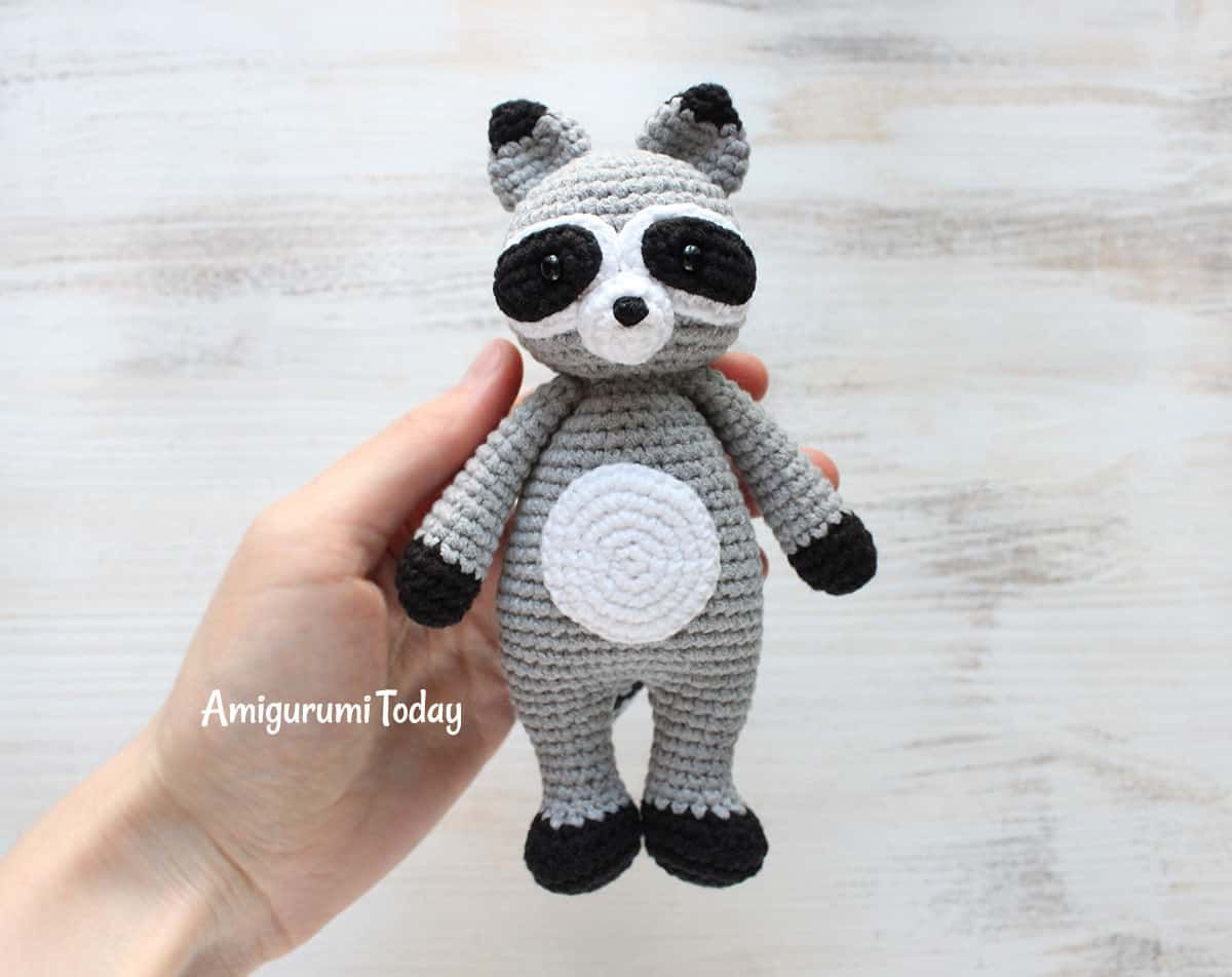 Cuddle Me Raccoon amigurumi pattern | Tığ desenleri | Pinterest ...