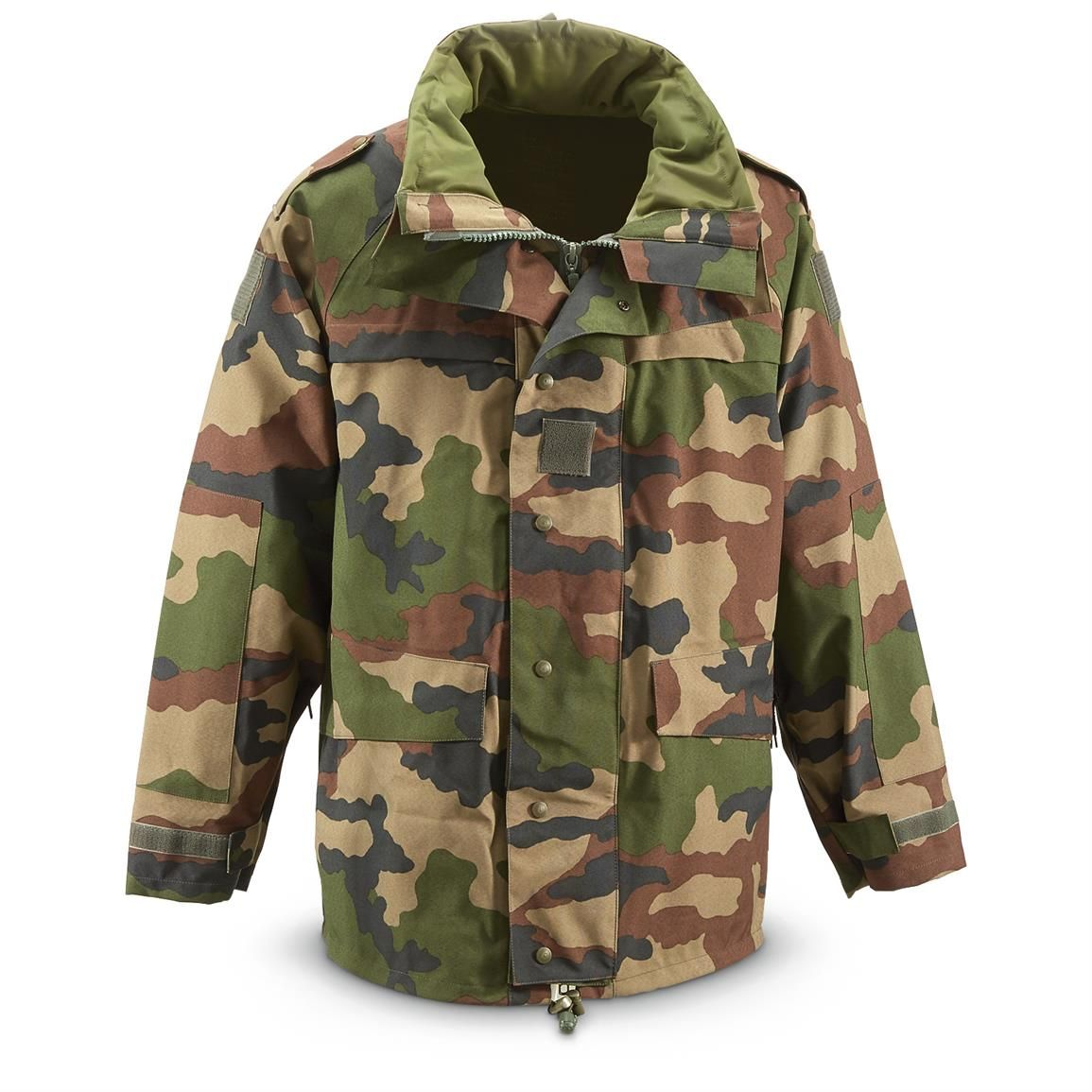 new lower prices sleek top design French Military Issue Rain Jacket, CEC Camo, Waterproof ...