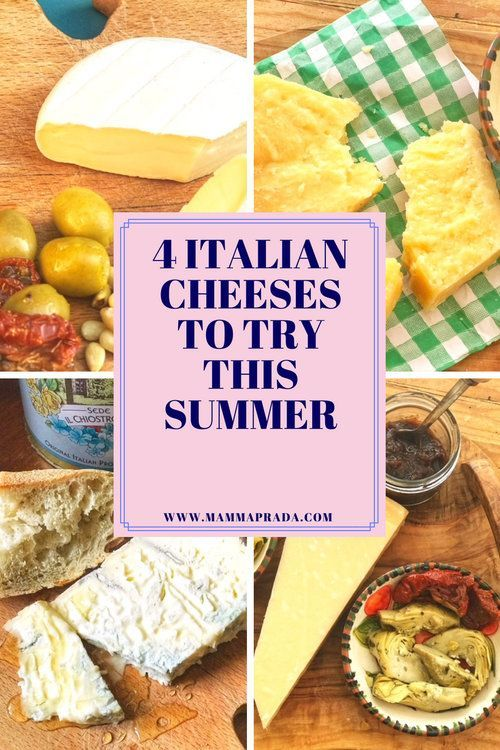 4 Italian cheeses to try this Summer Would you love to create a delicious Italian cheeseboard for your Summer BBQ? Check out these varieties and how to eat them! @Vorrei