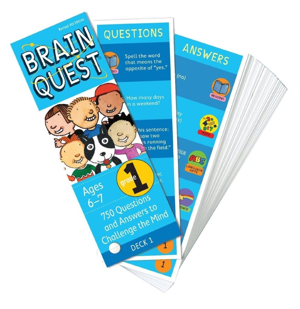 BrainQuest Elementary activities, Brain teasers for kids