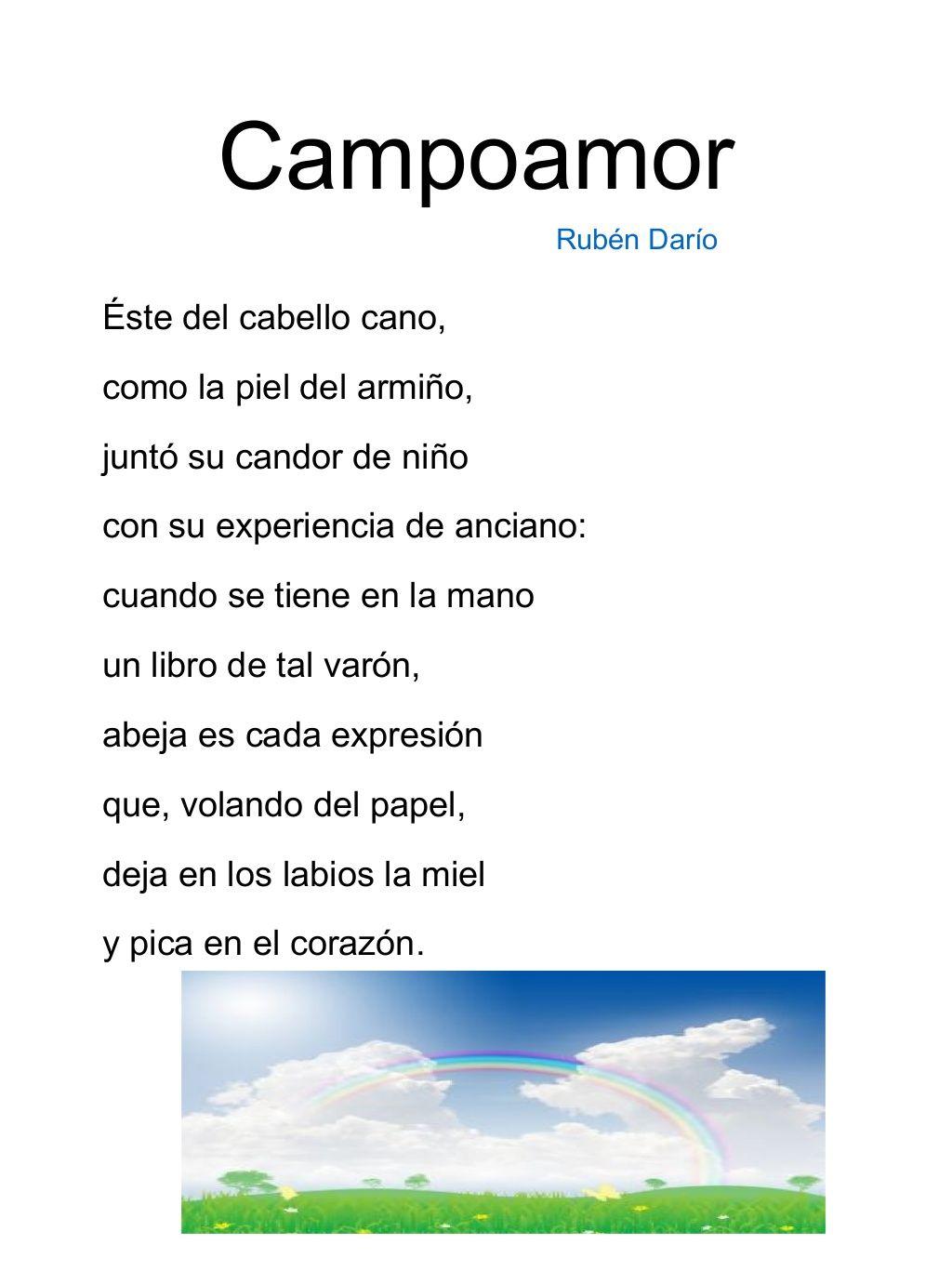 Poemas Para Niños De Primaria Poemas Para Niños Poesía Para Niños Poemas
