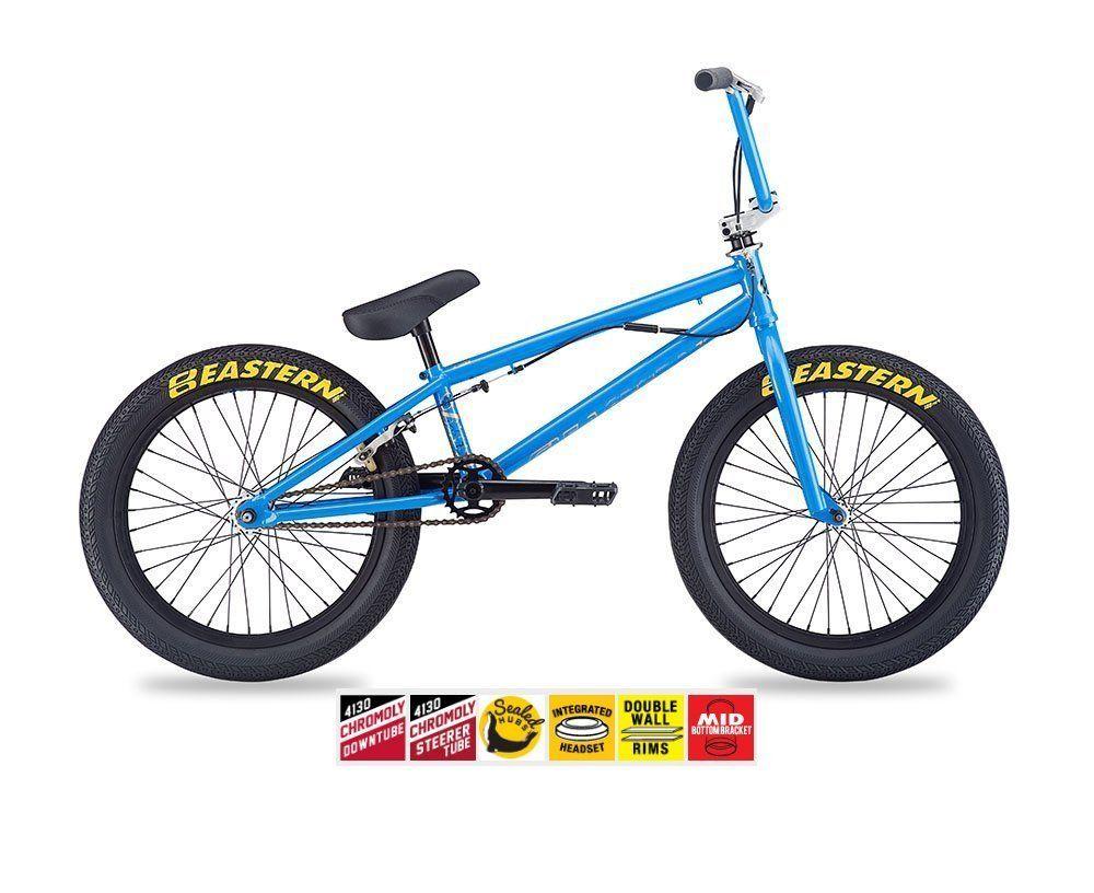 Charmant EASTERN ORBIT BMX BIKE 2017 BICYCLE BLUE. Hi Tensile Steel 20.25 Inch Top  Tube