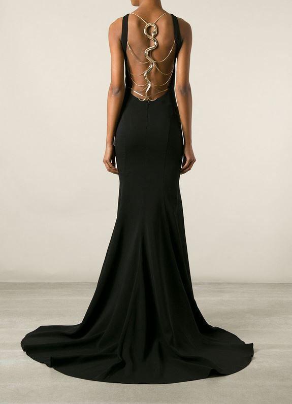 df78f6805f221 Snake Back Dress in 2019 | Love that Dress | Dresses, Cavalli dress ...