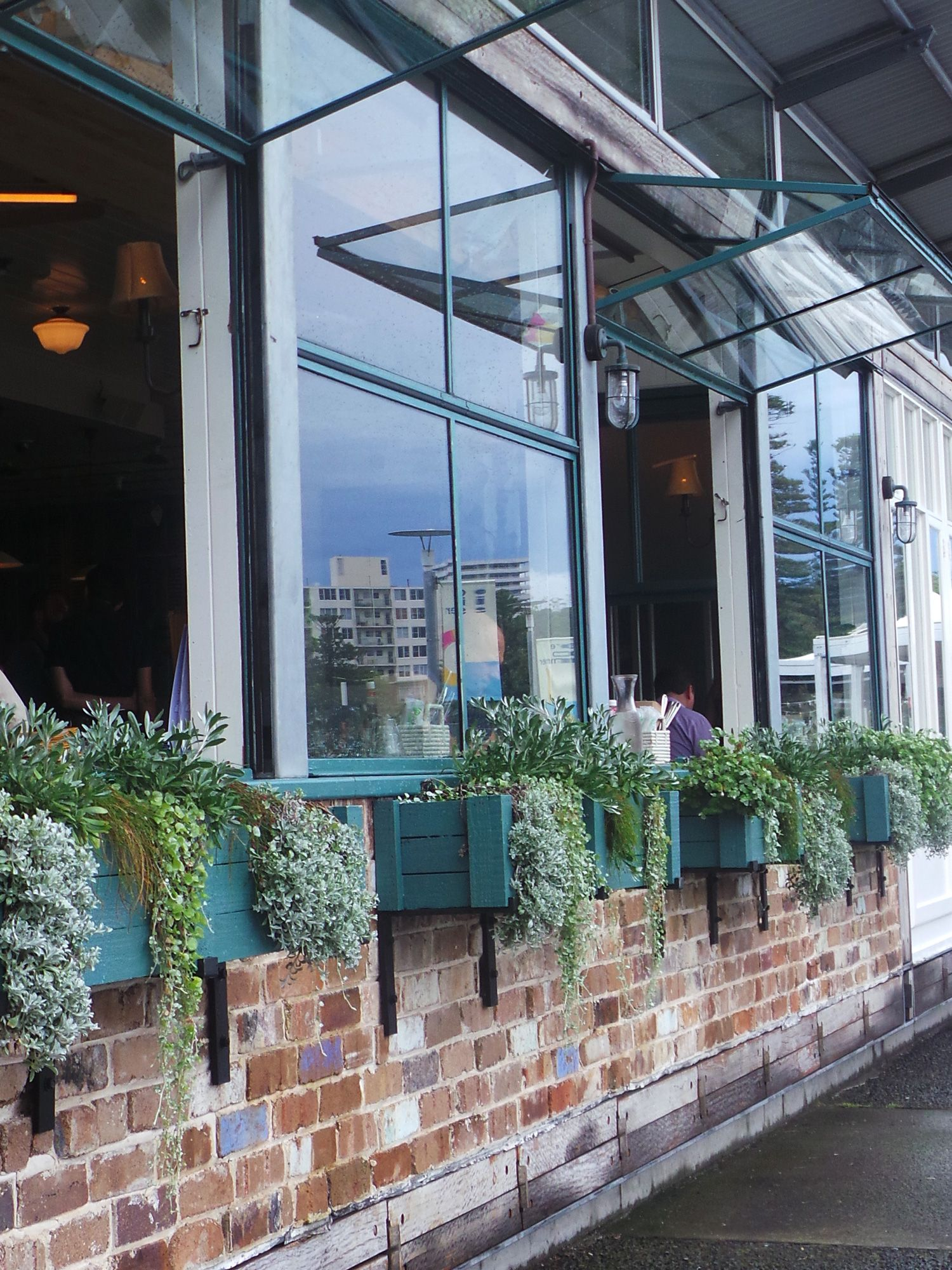 Planters Window Boxes Succulents Shopfront Manlywharf Sydney Window Boxes Storefront Design Window Planter Boxes