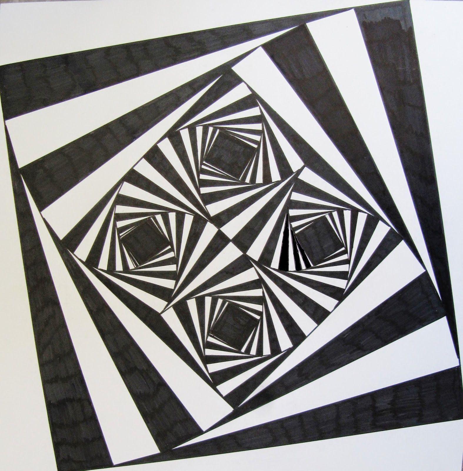 Композиции геометрических рисунков фото
