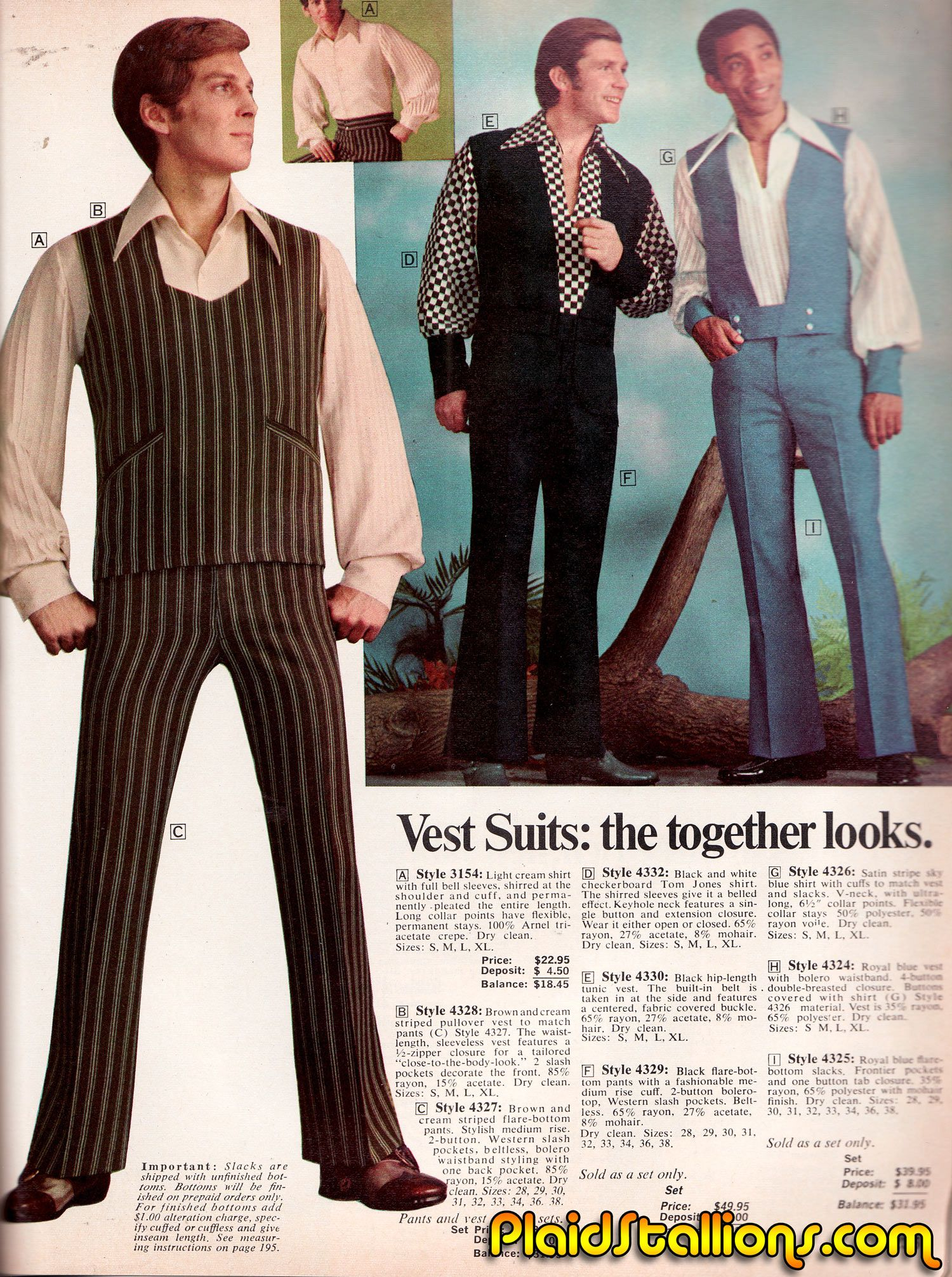 Plaid Stallions Rambling And Reflections On 70s Pop