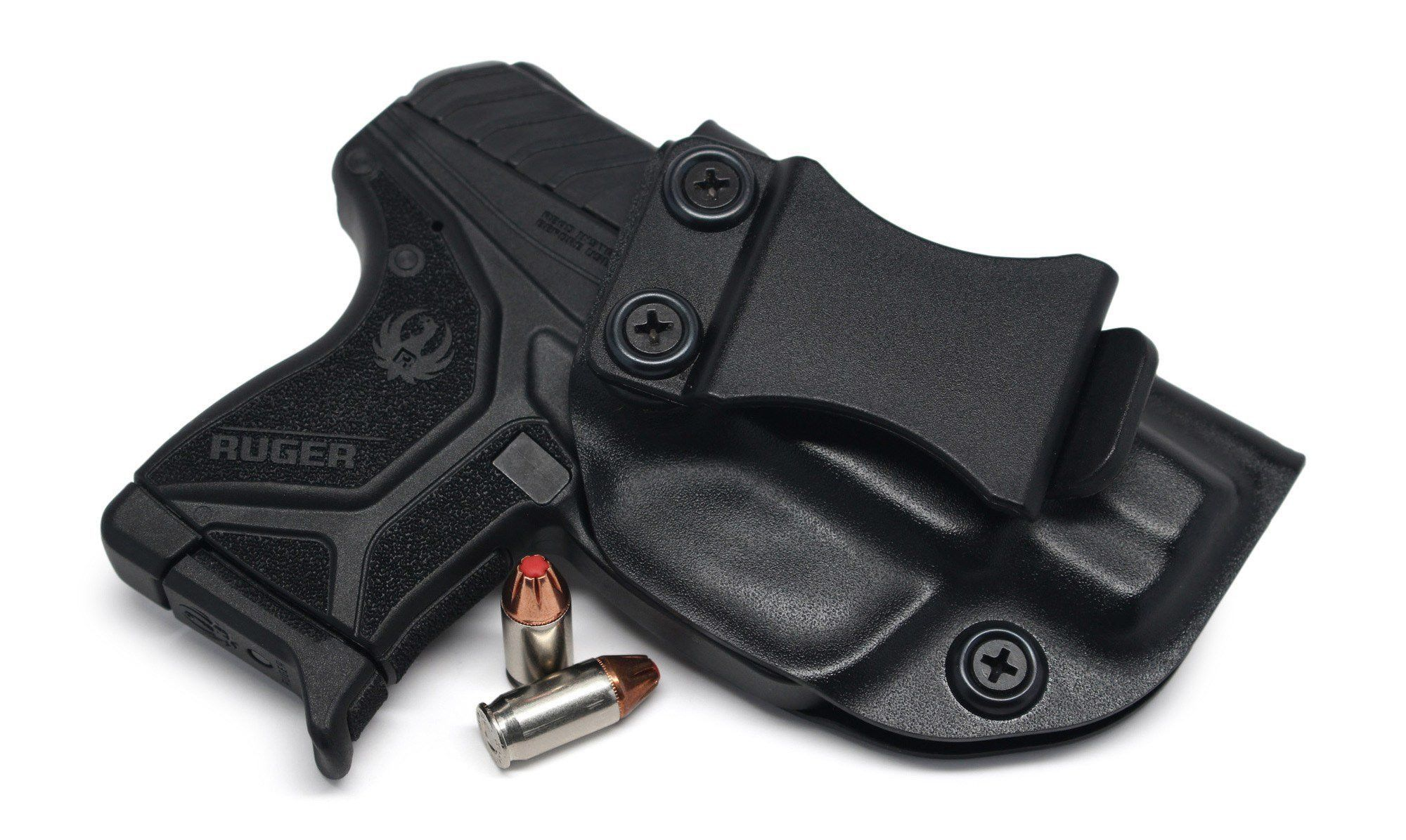 Concealment Ruger LCP II LCP 2 IWB Black Carbon Fiber KYDEX Holster Right Hand