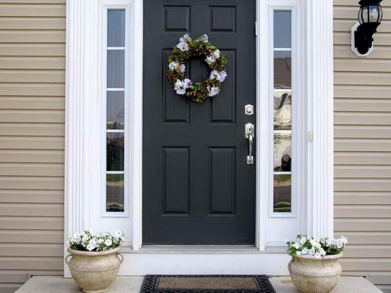 Home Depot Doors Exterior Fascinating Images Of Black Fiberglass Front Door  Home Depot Exterior Doors Inspiration