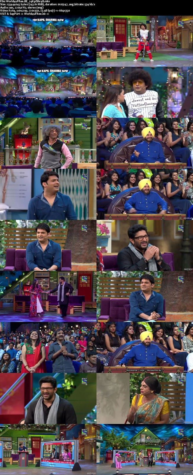 watch The Kapil Sharma Show 2016 200mb Episode 28 24th July 2016