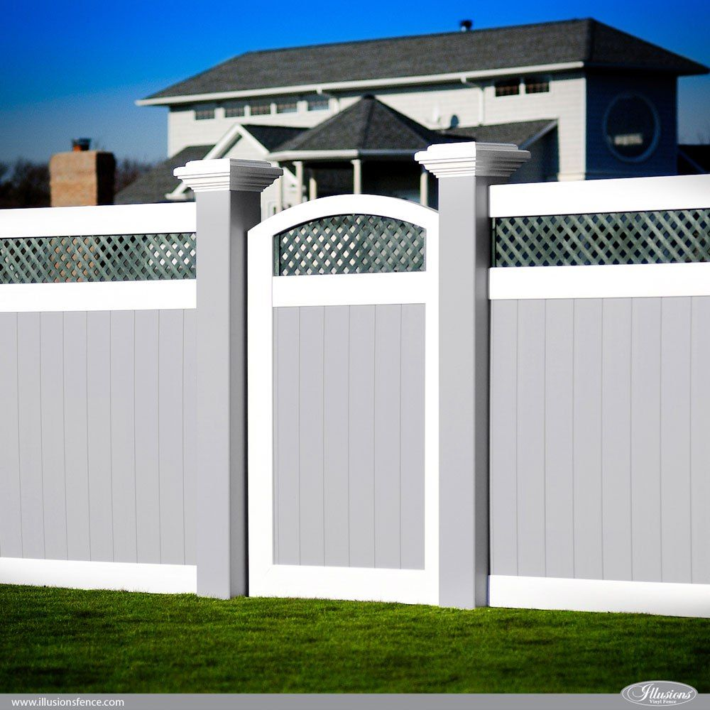Awesome Illusions PVC Vinyl Fence Ideas and Images | Vinyl fence ...
