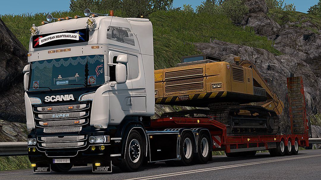 Ets2 Photography On Instagram Spotted In Kalmar Like And Comment Game Euro Truck Simulato Trucks Euro Kalmar
