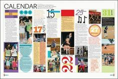 yearbook layout ideas google search