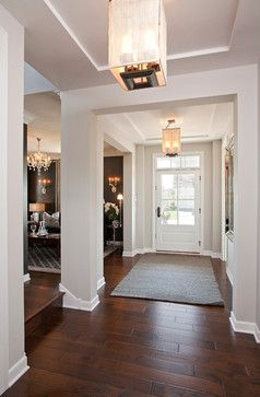 Repose Gray 7015 Sherwin Williams White Trim Dark Floors Chose This Paint Color Paint