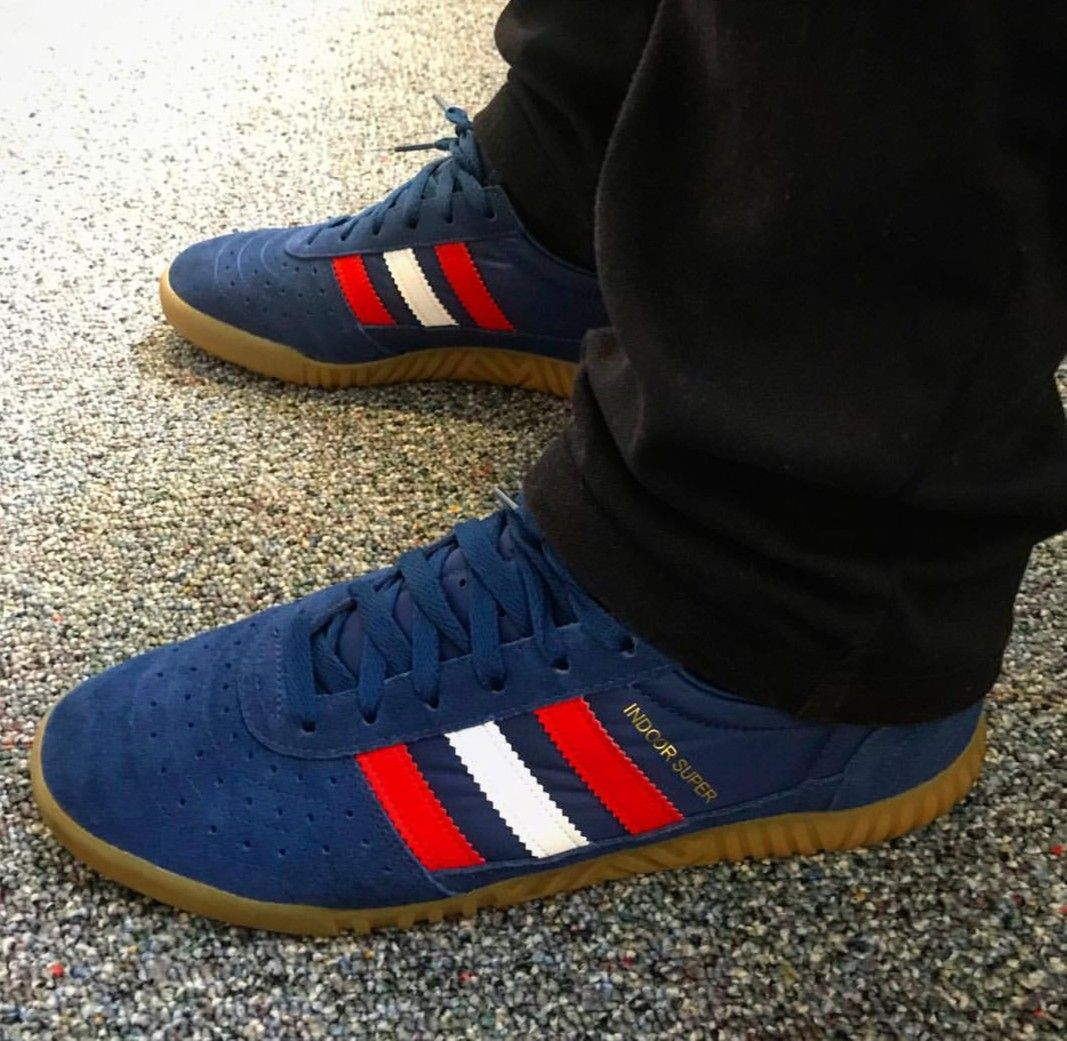 Indoor Super on feet on the street Adidas Og cb8619a75