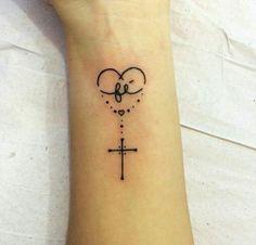 Tattoo Terço Pesquisa Google Tatoo Tatua