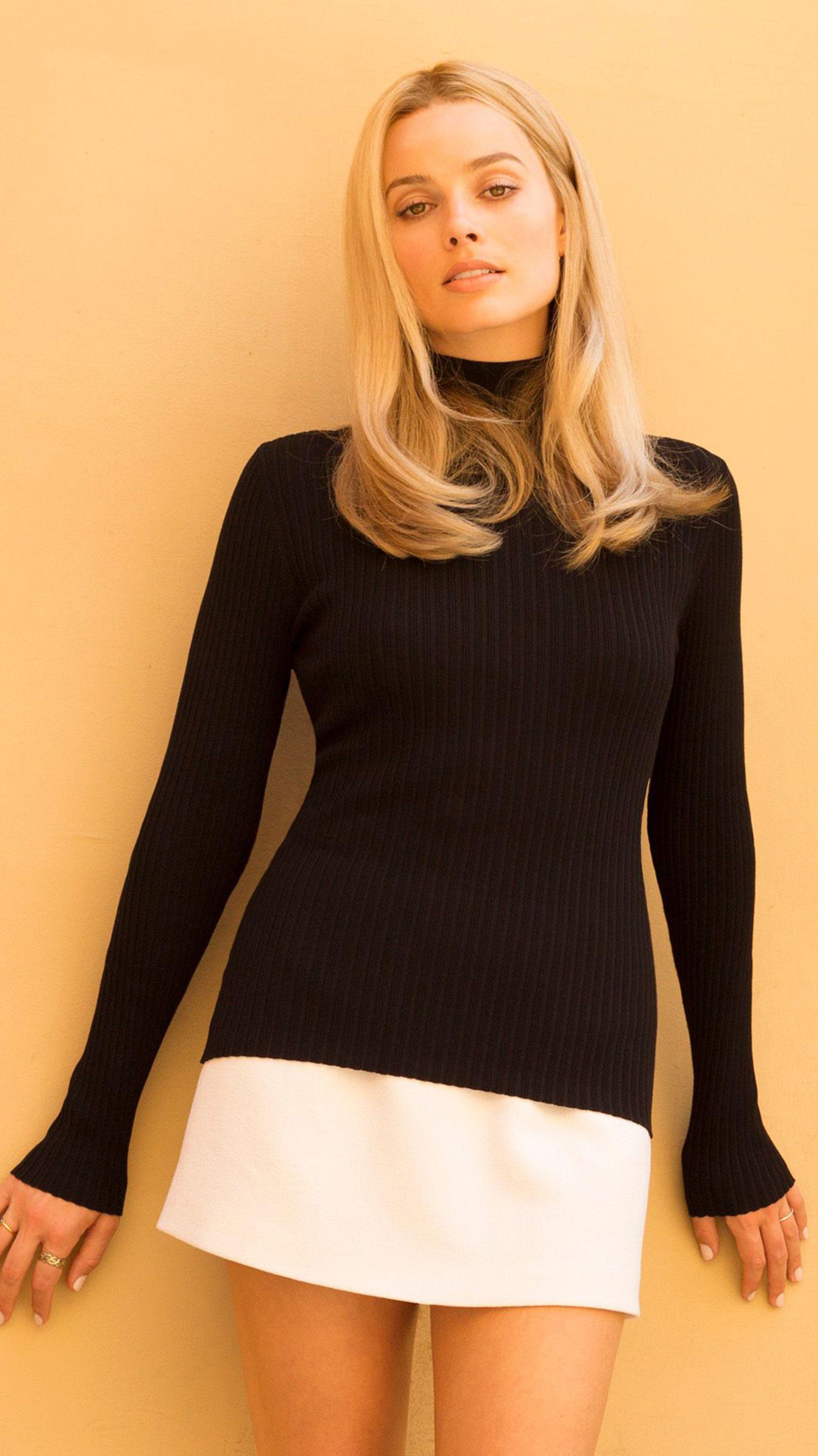 Photo of Margot Robbie als Sharon Tate Es war einmal in Hollywood In 2160×3840 Resol …