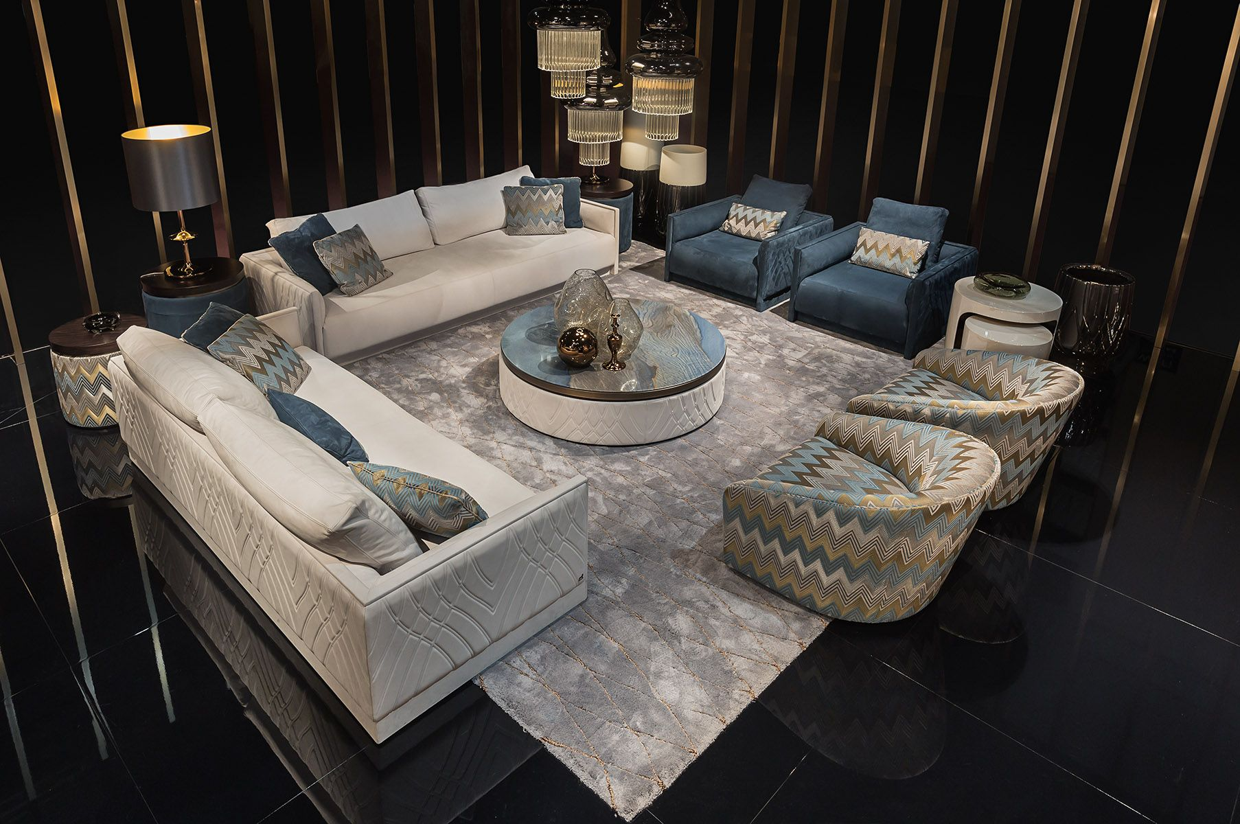 Living Room Ideas Miami Style Smania Collection