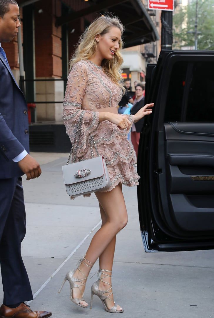 Blake Lively Has Legs For Days During Her Gorgeous NYC Outing #blakelively