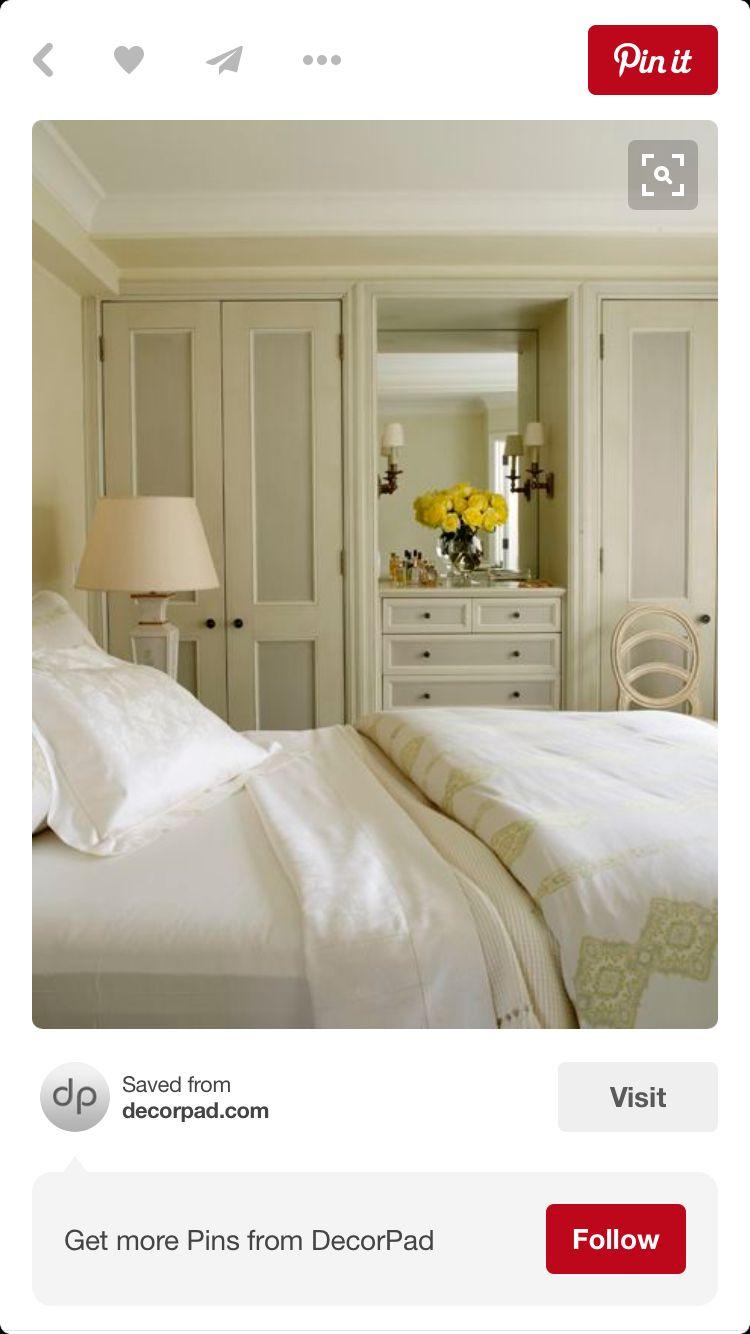 Closet wchanging table einrichtung pinterest bedrooms master