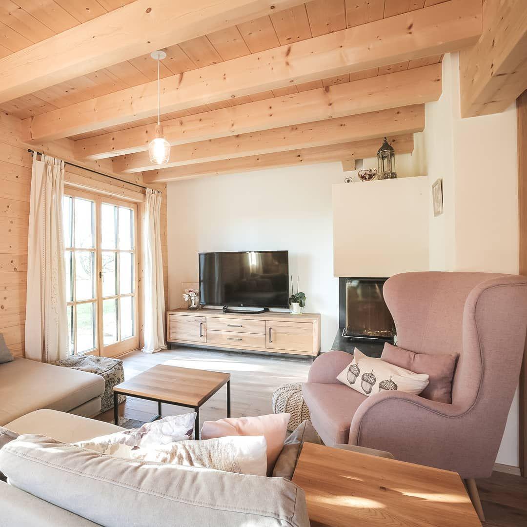 BLOCKHAUS REGENSBURG Das helle Wohnzimmer ist der perfekte