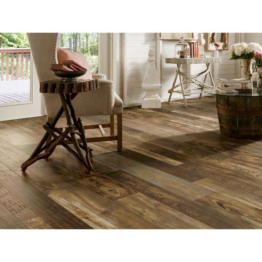Armstrong Old Original Random Width Laminate Floor