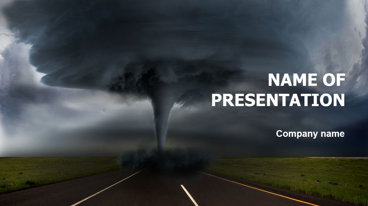 hurricane powerpoint template and theme  this beautiful