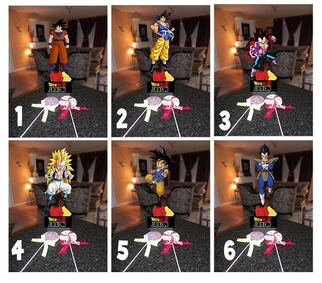 Dragon ball z centerpieces centerpiece diy kits each