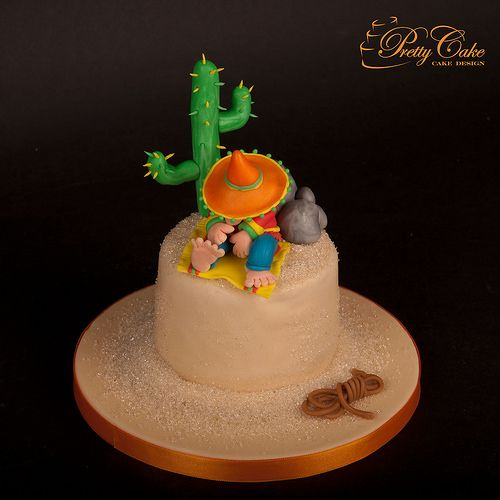 Sleeping Mexican cake | by Pretty Cake - Cake Design