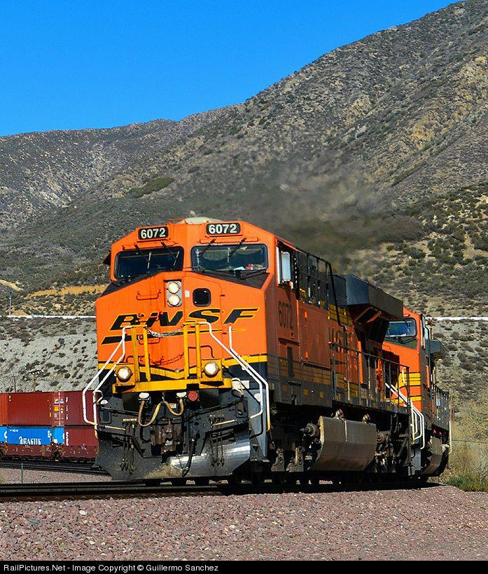 RailPictures Net Photo: BNSF 6072 Burlington Northern Santa