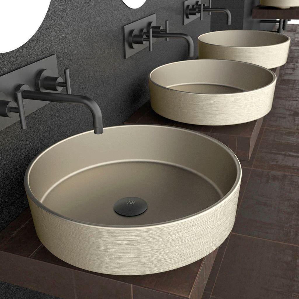 Glass Design Bath Sink Rho Round Bathroom Sink Restroom Design Small Bathroom Decor