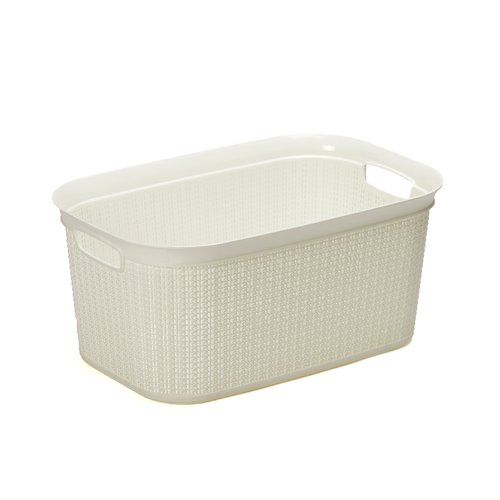 Rectangular 38l Laundry Basket Wayfair Basics Symple Stuff