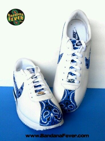 free shipping f4e5f 91b03 Custom Blue Bandana Cortez