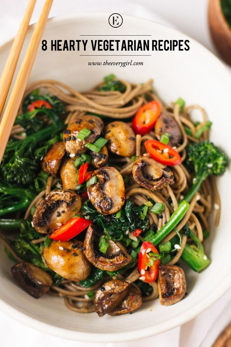 8 Hearty Vegetarian Recipes for Meatless Monday The