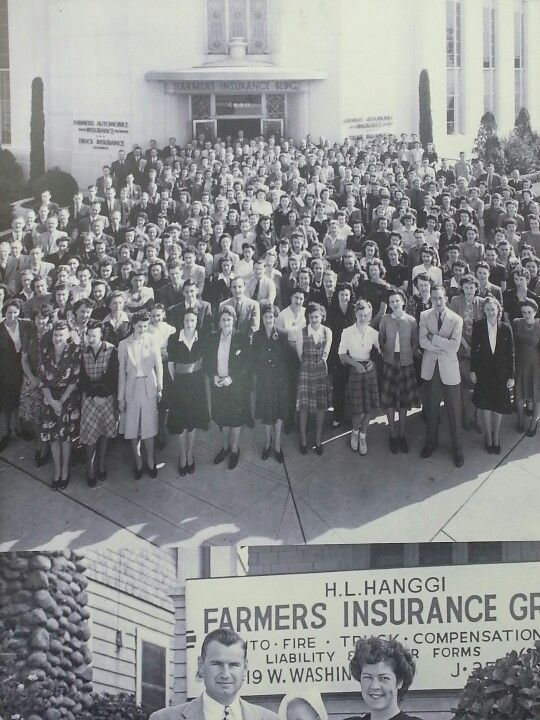 Old Photo Of Farmers Insurance Co My Office Number Is 360 864