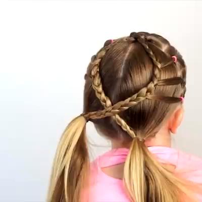 Metdaan - Circle Elastic Braid | Facebook - Hair Beauty