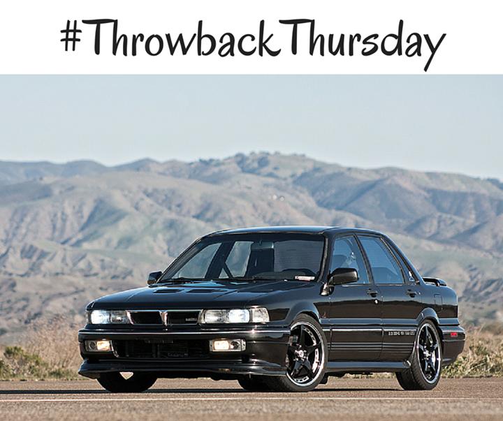 Galant Car: #TBT: 1991 #Mitsubishi Galant VR-4