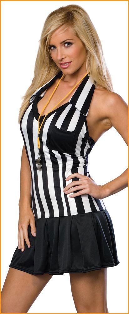 referee halloween costume women