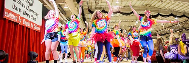 Dance Marathons at  Brownsburg High School, Heritage Hills High School, Lawrence Central High School, Fishers High School, and Carmel High School (Indiana), dedicated their time this weekend to helping the kids, raising almost half a million dollars!