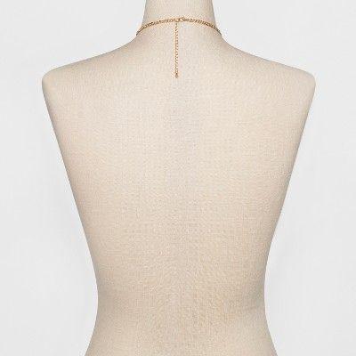 Women's Natasha Accessories Gold Delicate Designed Statement Necklace - Gold (10), Light Gold