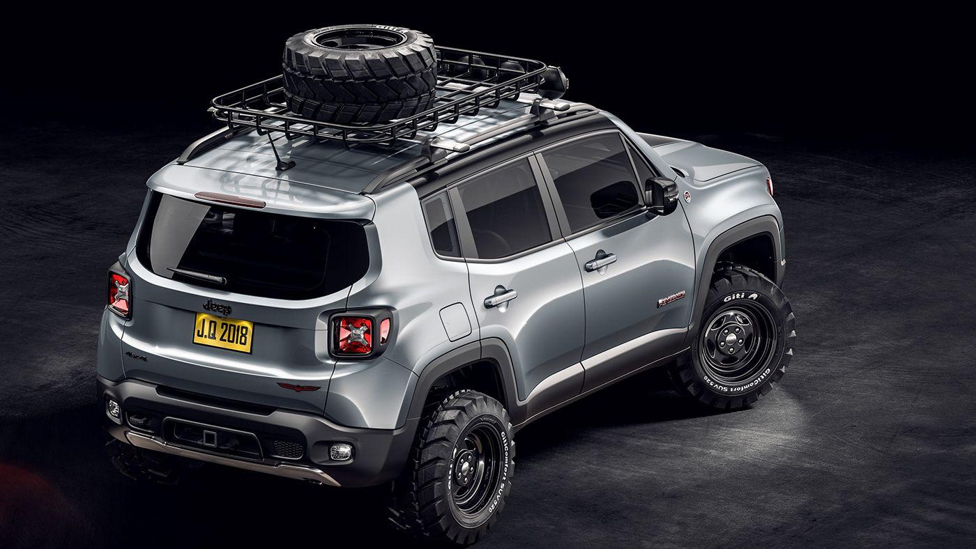 Jeep Renegade On Behance Jeep Renegade Jeep Renegade Trailhawk