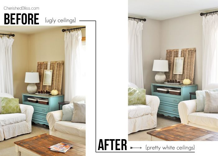 Nice Do You Hate Painting Your Ceilings? Try This Mess Free Tutorial On How To