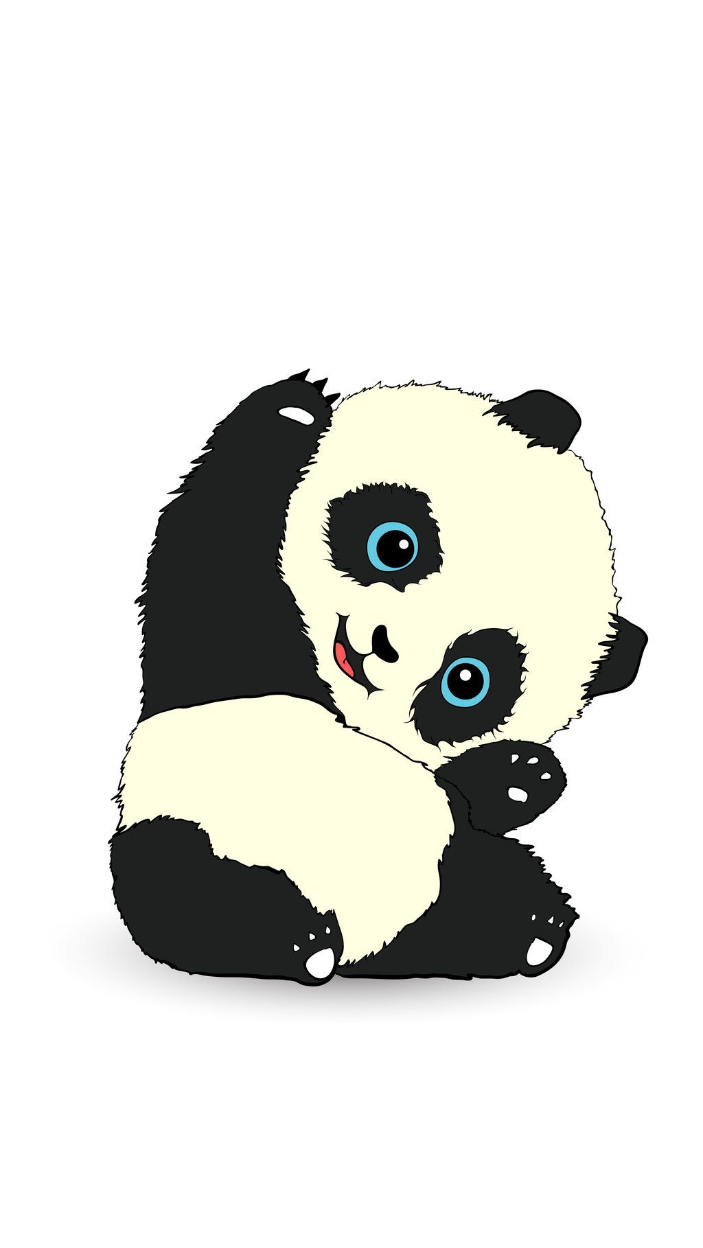 pinn i c o l e on cartoon panda phone wallpapers | pinterest