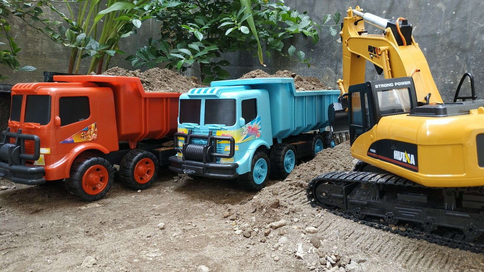 Mainan Mobil Truk Truk Mobil Video