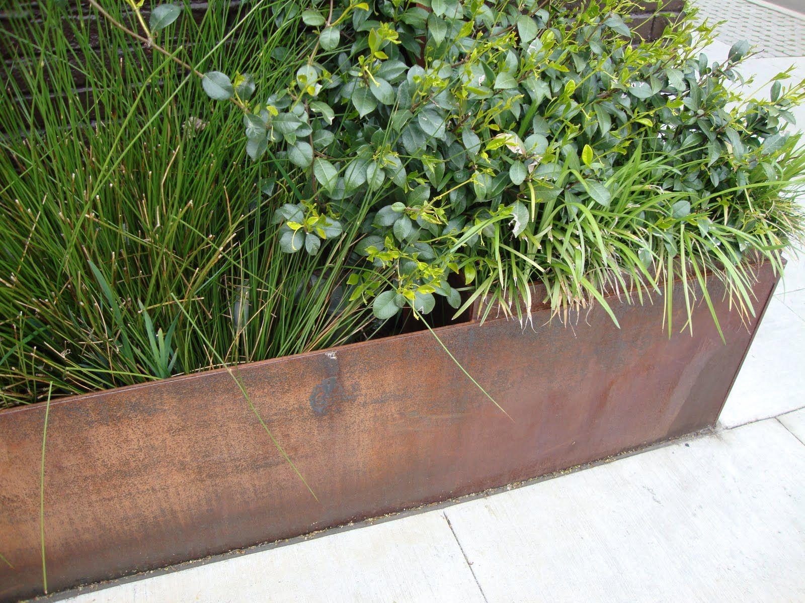 Bordure en metal jardin pinterest - Bordure de jardin metallique ...