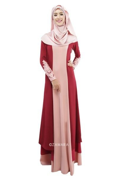 Free Shipping  Buy Best Formal Long Sleeve Muslim Evening Party Dress 8a1742267208