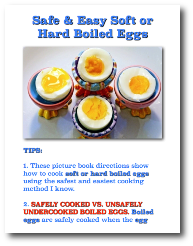 Safe and easy soft or hard boiled eggs picture book recipe heres safe and easy soft or hard boiled eggs picture book recipe heres the safest and forumfinder Images