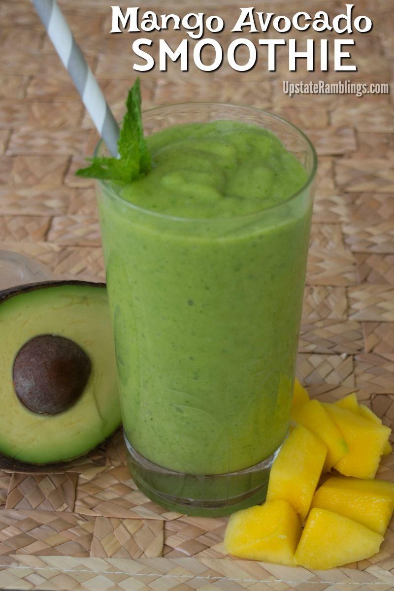 smoothie mango avokado
